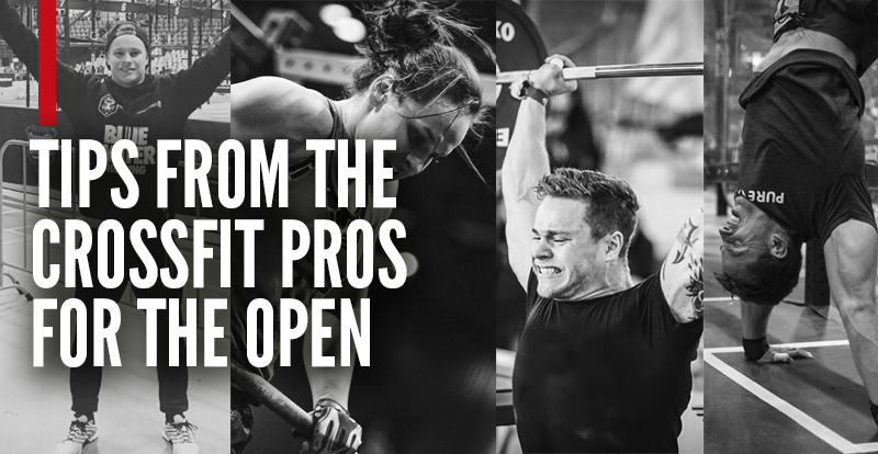 Tips from the Pro Crossfitters for Opens 2016