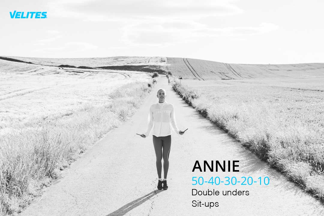 velites annie benchmark wod Progress Workouts