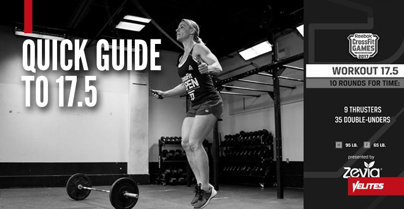Quick guide to 17.5 Velites double unders
