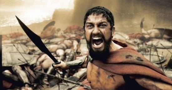 Gerard Butler and 300 have inspired many fitness followers