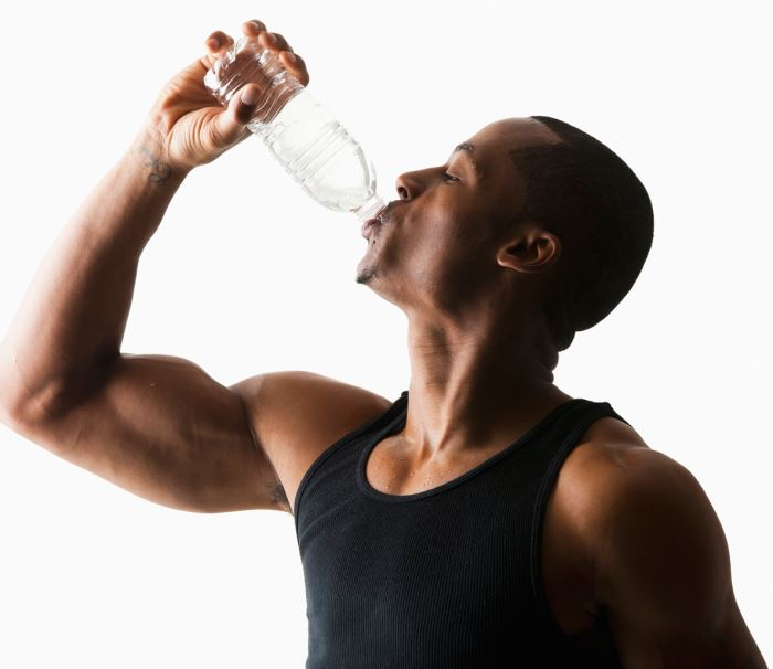 If you increase the protein, increase the water