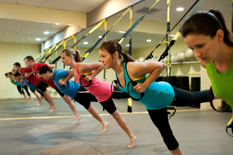 Suplement your training with a TRX system