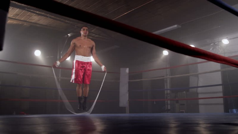 The benefits of skipping rope for boxers