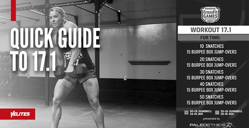Quick Guide to Tackling Open WOD 17.1 Velites