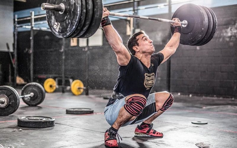 crossfit games 2017 rm snatch